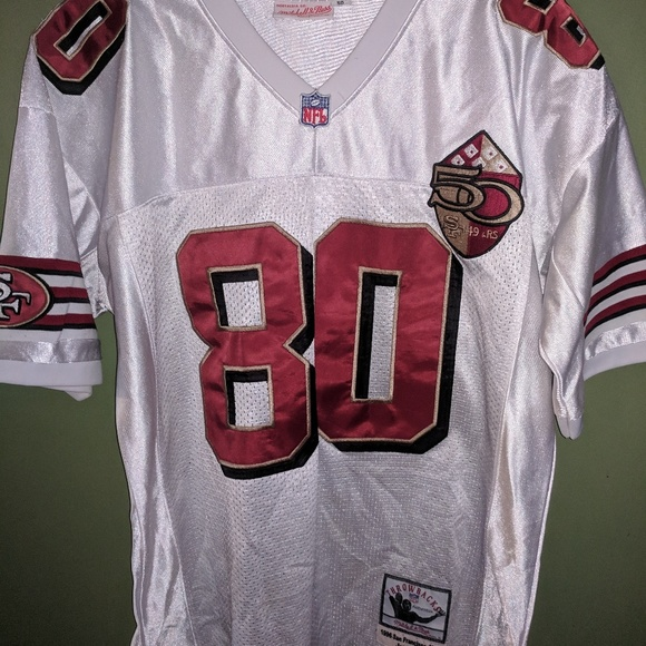best sneakers 61180 76bd2 1996 Jerry Rice Throwback Mitchell & Ness 50th Ann